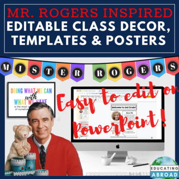 Editable Newsletter Templates Labels Inspirational Mr Rogers Quote Posters