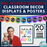 Inspirational Class Organization Decor, Banners, Posters & Quotes :Mister Rogers