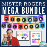 Inspirational Classroom Decor, Mister Rogers Quotes, Posters, Displays  (BUNDLE)
