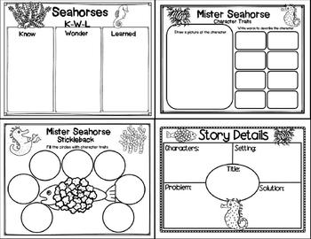 Mister Seahorse (Story Companion with story and nonfiction QR codes!)