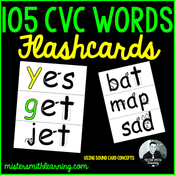 Mister Smith's 105 CVC Words