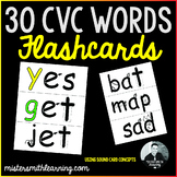 Mister Smith's 30 CVC words