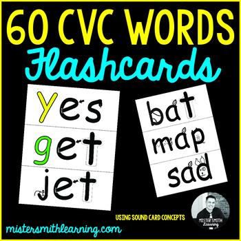 Mister Smith's 60 CVC Words