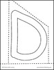 Free Cutting Pages Printable A-J
