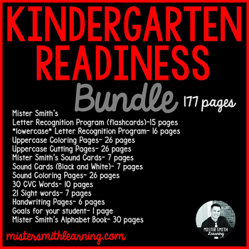 Kindergarten Readiness Bundle