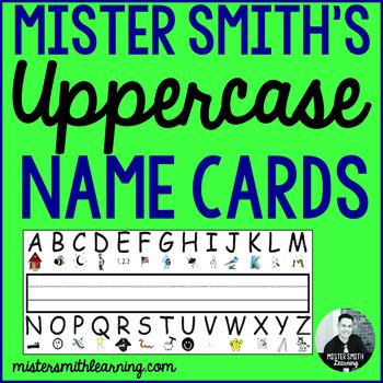Mister Smith's Letter Recognition Program-Name Cards
