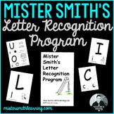 Mister Smith's Letter Recognition Program (identification flashcards-uppercase)