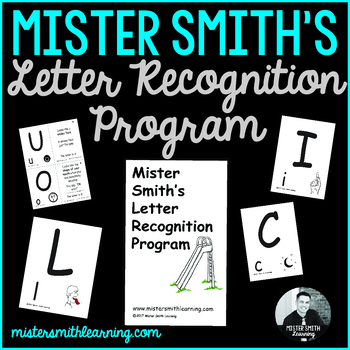 Letter Recognition Program (identification flashcards-uppercase)