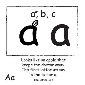 Lowercase Letter Identification and Recognition: Mister Smith's Lowercase Book