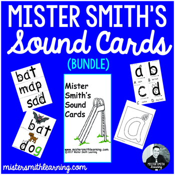 Mister Smith's Sound Cards (Bundle)- Printable Flashcards