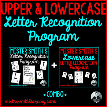 Letter Recognition Program Combo *Upper and Lowercase* Bundle