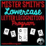 Lowercase Letter Identification: Lowercase Letter Recognition Program