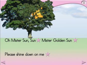 Mister Sun - Animated Step-by-Step Song - Regular