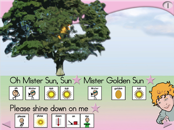 Mister Sun - Animated Step-by-Step Song - SymbolStix