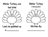 Mister Turkey Rhyming Reader