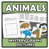 Mistery graph pictures - Dibuja con coordenadas - Animals