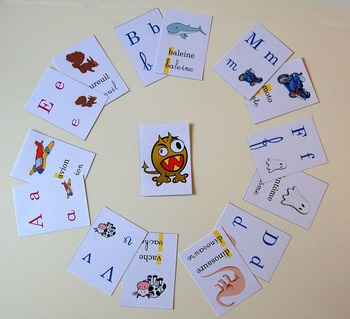 Mistigris alphabet : letters' learning game