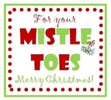 MistleTOES gift tags for nail polish