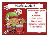 Mistletoe Math: Math workstation activities