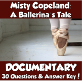 Misty Copeland: A Ballerina's Tale Documentary (Black History Month)