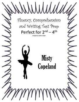 Misty Copeland - Fluency, comprehension, writing - 3rd, 4th Small Group