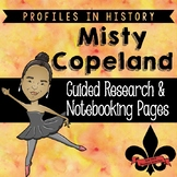 Misty Copeland Guided Research Activity