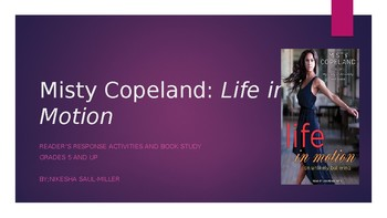 Misty Copeland: Life in Motion Book Study
