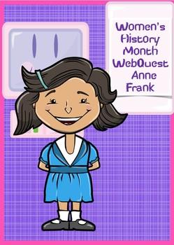 WebQuest The Anne Frank
