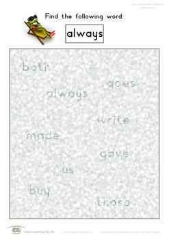 Misty Words (2nd Grade)