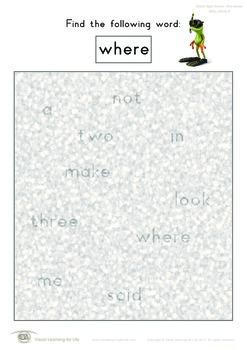 Misty Words (Pre-K)