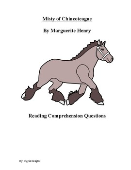 Misty of Cincoteague Reading Comprehension Questions