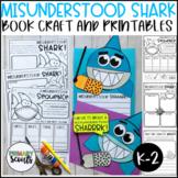 Misunderstood SHARK Craft and Reading Printables