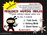 Misused/ Commonly Confused Words: Ninja style!
