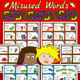 Misused Words - Homophones: Are Our You're Your It's Its