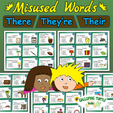Misused Words - Homophones: There Their They're