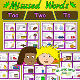 Misused Words - Homophones: Too Two To
