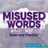 Misused Words Series: Whose and Who's Definitions, Example