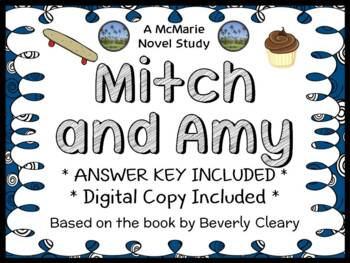 Mitch and Amy (Beverly Cleary) Novel Study / Comprehension  (35 pages)
