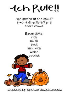 Mitch and the Pumpkin Patch! (a ch/tch board game) Orton-Gillingham Inspired