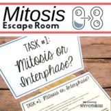 Mitosis Activity.  Escape Room. Editable