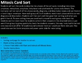 Mitosis Card Sort with Notes