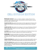 Mitosis/Cell Cycle Minute To Win It Review Game