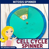 Mitosis & Cell Cycle - Spinner, Puzzle and Note