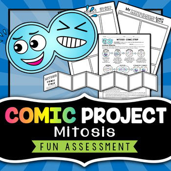 Mitosis Comic Strip - Project