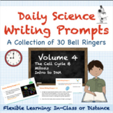 Mitosis & DNA Structure - Science Bell Ringers Vol. 4 | Distance Learning