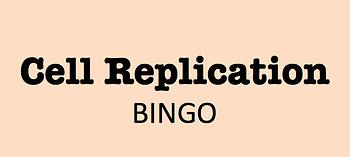 Mitosis & Meiosis Review Bingo
