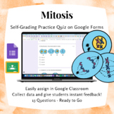 Mitosis Phases PMAT Practice Quiz | Digital Resource Distance Learning Form