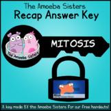 Mitosis Recap Answer Key by The Amoeba Sisters (Amoeba Sis