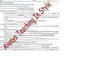 Mitosis and Cytokinesis Video Notes
