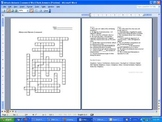 Mitosis and Meiosis Crossword Puzzle